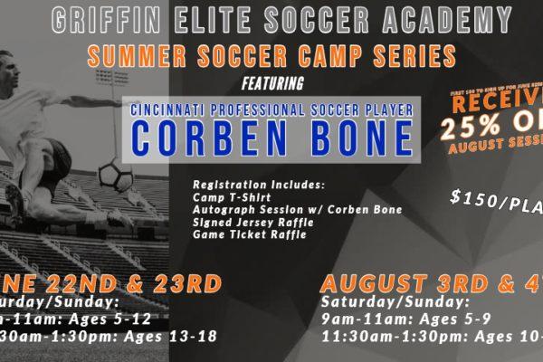 Corben Bone Camp Flyer